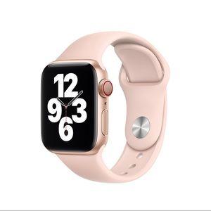Apple Watch Sport Band in Pink Sand, 40MM NIB